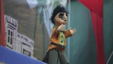 Fiestas de San Lorenzo 2011- ANIMAHU - gorgorito y la bella durmiente /Foto Rafael Gobantes / 9-8-11