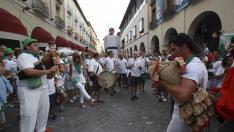 fiestas de san lorenzo de huesca. cabezudos en huesca / foto Javier Blasco/ 9-8-14