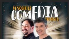 Cartel de 'La noche es comedia'
