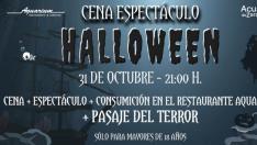 Halloween en el Acuario de Zaragoza
