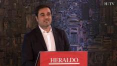 Minuto de oro de Rodrigo Gómez, candidato de Ciudadanos al Congreso por Zaragoza en el debate de HERALDO.