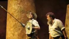 """La compañía zaragozana llevará al Teatro Principal del 6 al 10 de noviembre esta comedia que """"apela al sentido colectivo"""" de la figura de Don Quijote."""