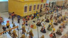 Exposición de Playmobil en la Ciudadela de Jaca