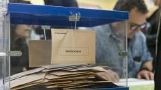 COLEGIO TIO JORGE ELECCIONES GENERALES 2019 COLEGIOS ELECTORALES /28-04-2019 / FOTO: ARANZAZU NAVARRO [[[FOTOGRAFOS]]]