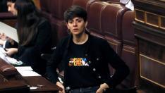 La diputada de ERC Marta Rosique, durante la sesión constitutiva de las Cortes.