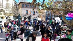 Feria solidaria 2018 en Benabarre.