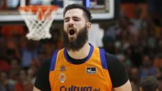 Bojan Dubljevic, jugador del Valencia Baket, será una de la estrellas que juegue en la Copa del Rey de baloncesto.