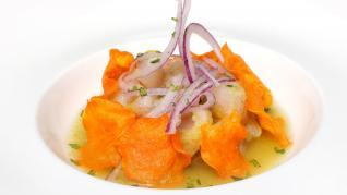 ¿Cuáles son algunos de los platos que se presentan al Certamen de Restaurantes?