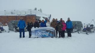 Una experiencia extrema de conducción en la nieve