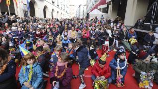 Campanadas infantiles en Huesca