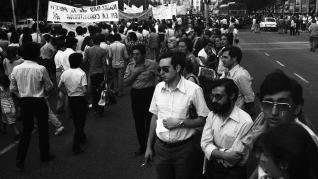 Manifestación feminista 1978