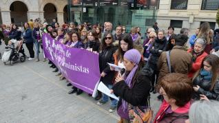 Manifestación por el 8-M en Teruel.