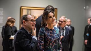 La reina Letizia y el príncipe Carlos abren una exposición de Sorolla en Londres.
