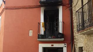 Un incendio en un edificio del Casco Histórico de Jaca deja 19 heridos