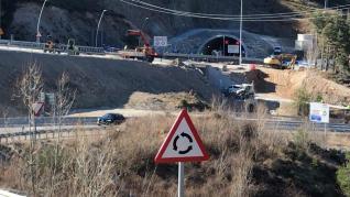 Estrenados los nuevos tramos de la A-23 en Monrepós
