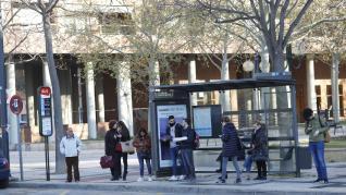 Huelga de autobús urbano de Zaragoza