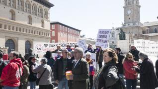 Protestas de pensionistas