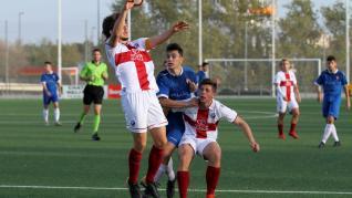Fútbol. LNJ- Valdefierro vs. Huesca.