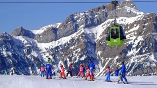 Balance de la temporada de esquí en Aramón.