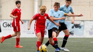 Fútbol. Aragón Promesas Alevín- San Gregorio vs. Montecarlo.