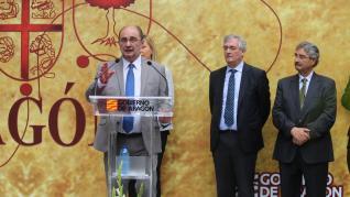 Acto institucional del Día de Aragón en Huesca.