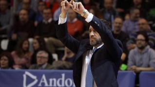 Partido del Tecnyconta Zaragoza frrente al Andorra