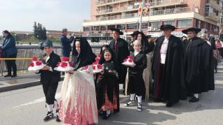 Celebración del Día de la Faldeta en Fraga