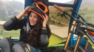 La zaragozana Cristina Pillado Vicente, debutante en la Titan Desert