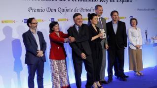 Gervasio Sánchez, premios de Periodismo Rey de España.