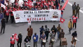 Primero de Mayo en Aragón.