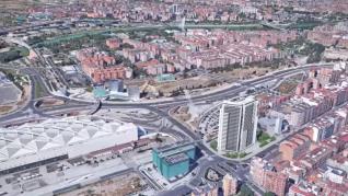 Torre Zaragoza se situará frente a la estación del AVE