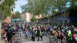 Dos mil personas participan en el Día de la Bicicleta en Teruel