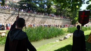 El Homenaje a Mont-rodón llena Monzón de historia y asistentes.