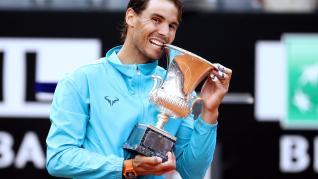 Nadal se impone a Djokovic y se alza con su noveno Masters 1000 de Roma.