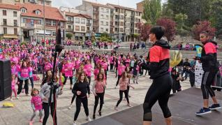 VI carrera contra el cáncer de Sabiñánigo