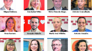 Parlamentarios que representarán a Aragón en el Senado