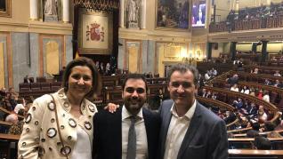 Diputados aragoneses se estrenan en el Congreso