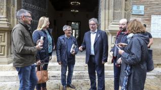 Actos fin de fiesta electoral en Huesca
