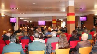 Durante el acto, se ha homenajeado a los que dieron su vida por España y a los que finalizan su servicio en la Guardia Civil.