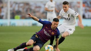 Copa del Rey, final entre el Barcelona y el Valencia.