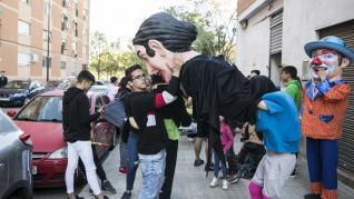 Fiestas en el entorno de la avenida de Cataluña