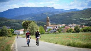 Los Puertos de Ribagorza se convierten de nuevo en una fiesta del ciclismo