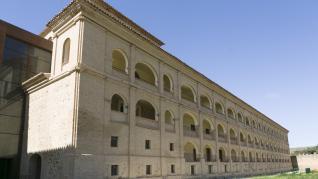 Instalaciones del futuro parador de Veruela, que podría abrir en verano de 2020.