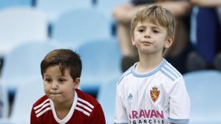 Búscate en La Romareda en el partido del Real Zaragoza ante el Numancia.