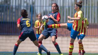 Final. Aragón Femenina- Oliver vs. Fleta.