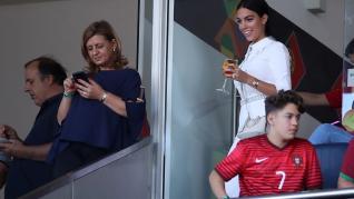 Georgina en la Liga de las Naciones