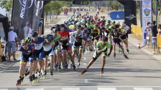 I Maratón Roller Huesca La Magia