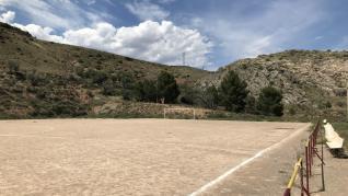 Campo de fútbol del CD Morés.