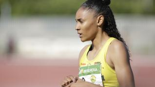 Final de la Liga Ibedrola Femenina en Zaragoza, con Salma Paralluelo, atleta del Alcampo Scorpio