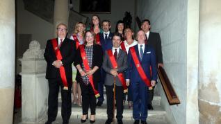 El pleno de Huesca del que salió Luis Felipe (PSOE) alcalde por sorpresa
